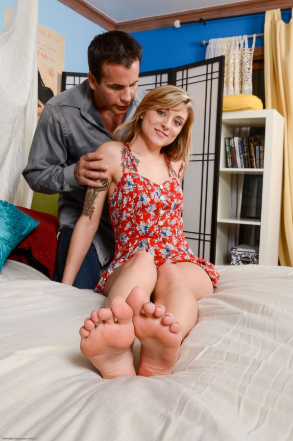 Footjob and Sex w/Ayla Marie